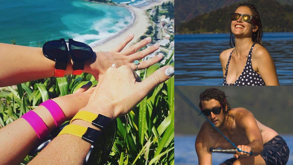 SlapSee Pro – Wrist Slapping Sunglasses That Never Fall Off