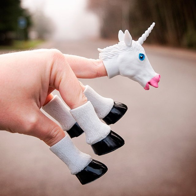 Handicorn 5 Finger Unicorn Puppet