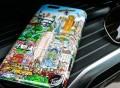 Flying Over New York Fazzino Phone Case