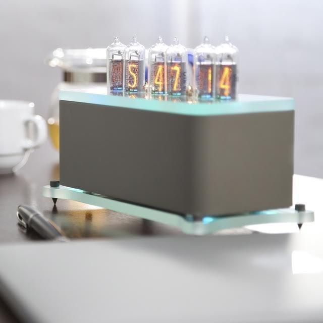 VacuumGlow Levitation Nixie Tube Clock