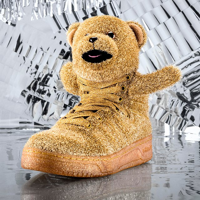 Adidas by Jeremy Scott Bear Sneakers