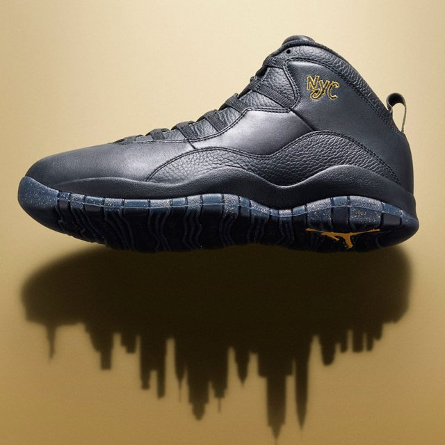 Air Jordan Retro 10 NYC City Pack