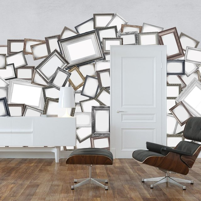 Mirror Frame Wall Mural Collection