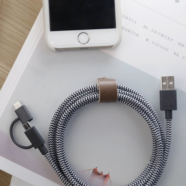 Twin Head Belt Cable by Native Union