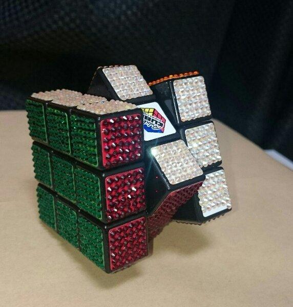 Swarovski Crystal Rubix Cube