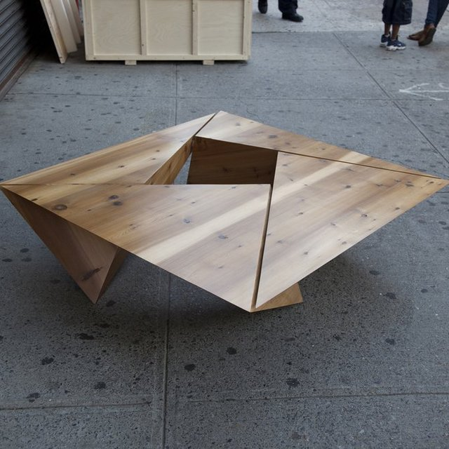 Triangulated Coffee Table
