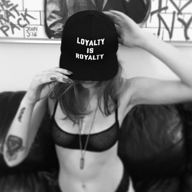 Loyalty is Royalty Snapback by BRED New York