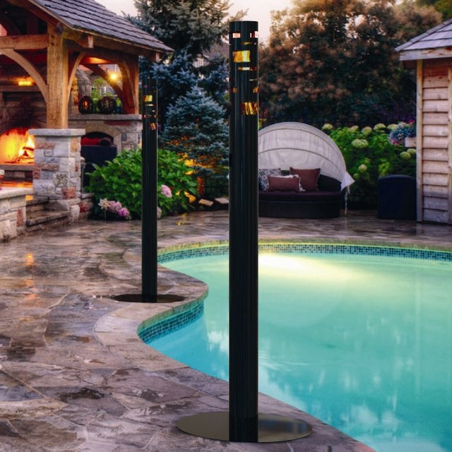 Skyline Bio Ethanol Outdoor Black Torch
