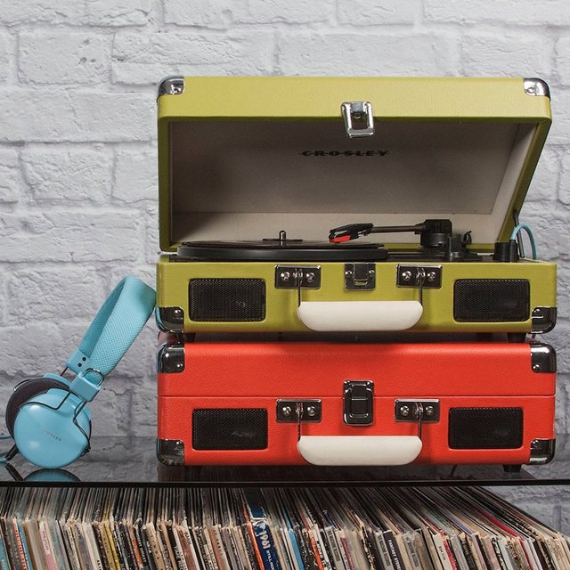 Crosley Cruiser 3-Speed Portable Turntable