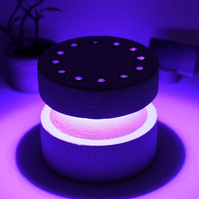 LED Coffee Table Night Lamp Round RHH3