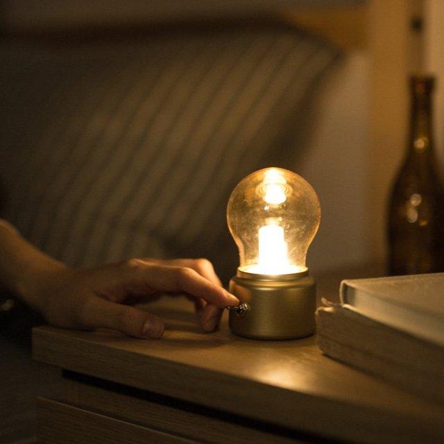 USB Mini Retro Bulb Lamp