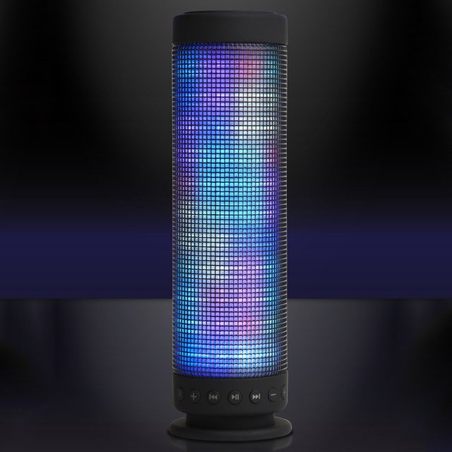 Boom Tower Bluetooth Light Show Speaker » Petagadget