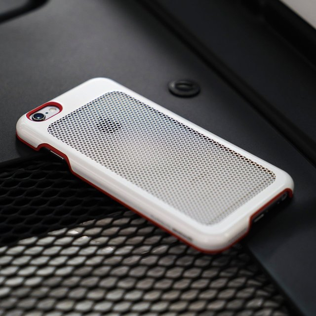IOM Cool Mesh White / Red Trim for iPhone 6s