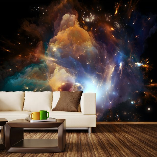 In The Dawn Of the Cosmos Removable Wall Mural