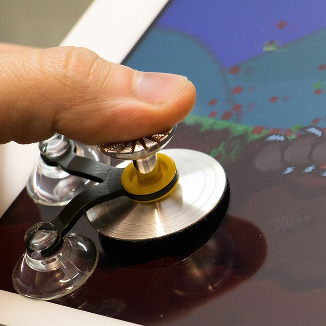 ScreenStick Sensitive Joystick for Tablets & Smartphones