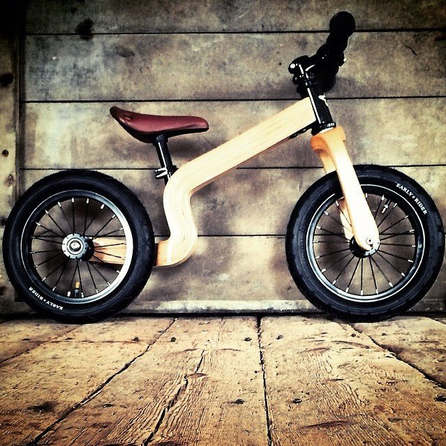 Bonsai Natural 12″ Balance Bike by Earlyrider