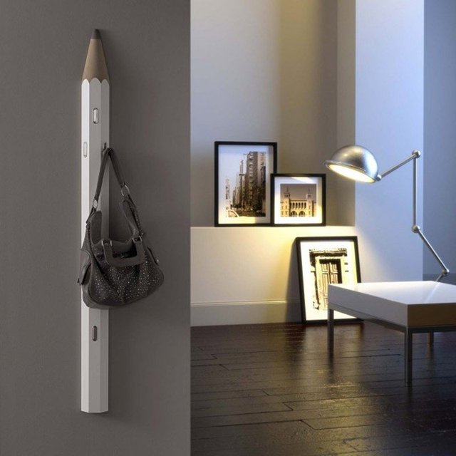 Pencil Coat Rack