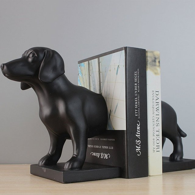 Sid The Sausage Dog Bookend