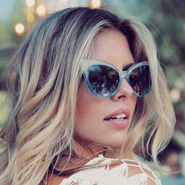 Crystal Cove Grand Dame Sunglasses by Wildfox Sunwear