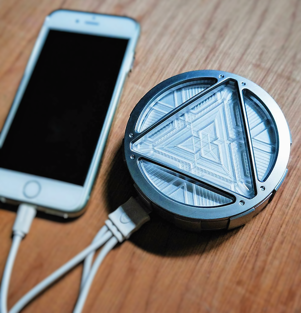 ARC Reactor Wireless Charger