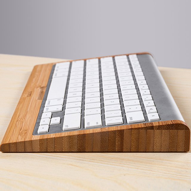 Bamboo Keyboard Stand for Apple Wireless Keyboard