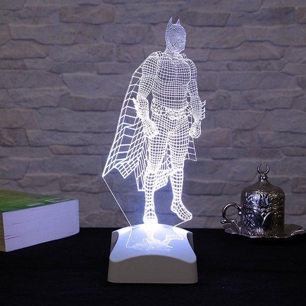 Batman 3D Acrylic Bedside Lamp