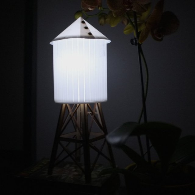 Water Tower Nightlight