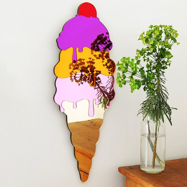 Ice Cream Mirror