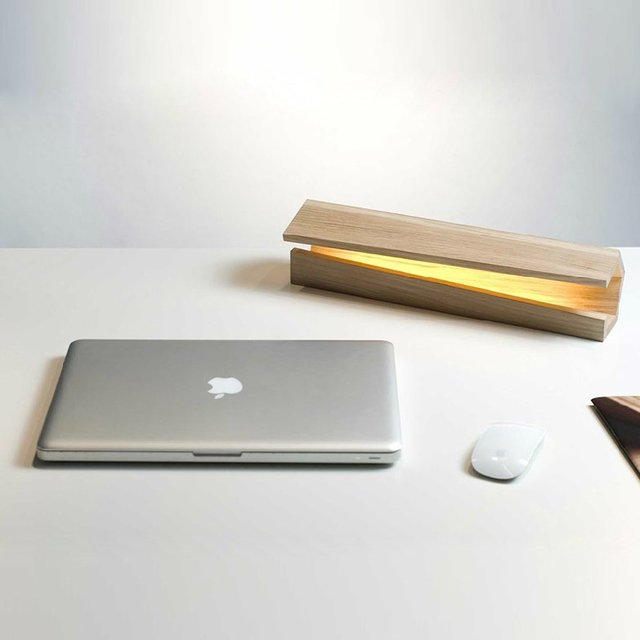 USB Powered Wooden Mood Light