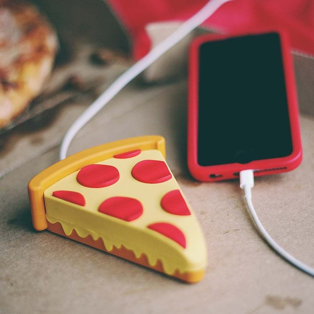 Pizza Power Bank by WattzUp Power