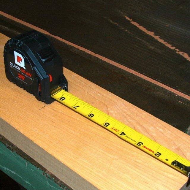 Quickdraw Self Marking Tape Measurer