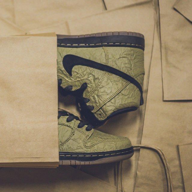 Shinola Large Green Hard Linen Journal
