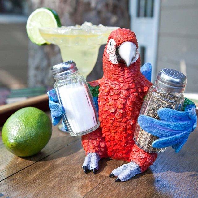 Parrot Lovers Salt and Pepper Set