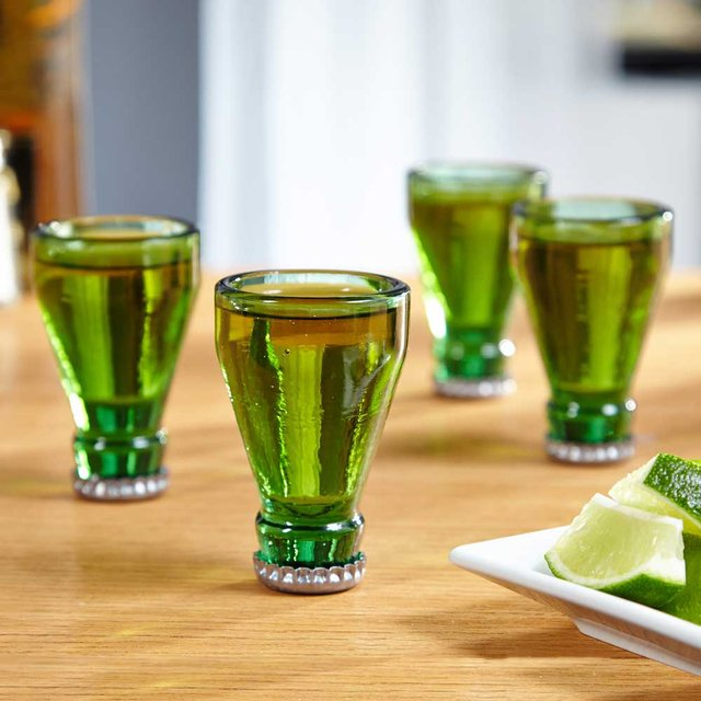 Bottle Tops Shot Glass Set