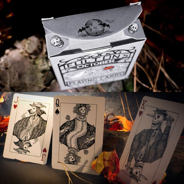 October Playing Cards