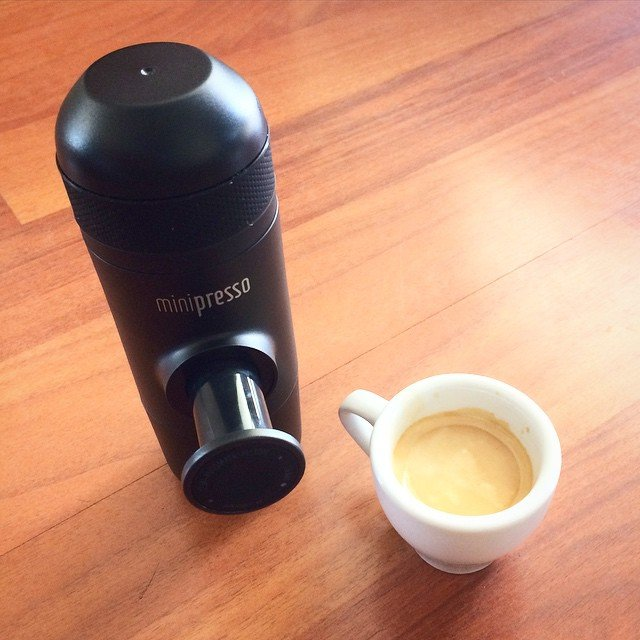Minipresso Espresso on the Go