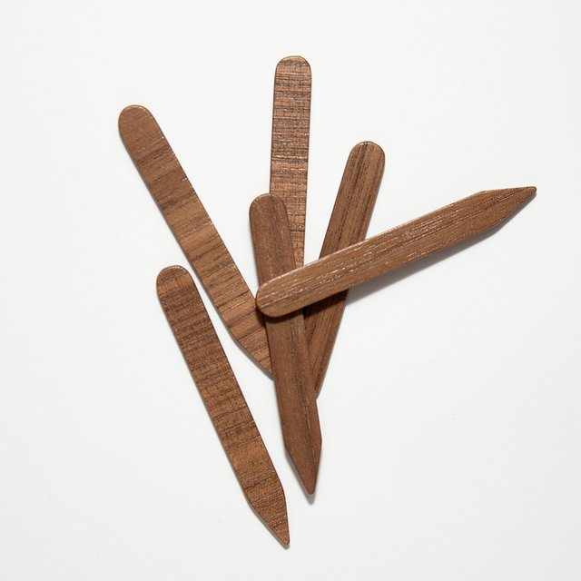 Walnut Wood Collar Stays
