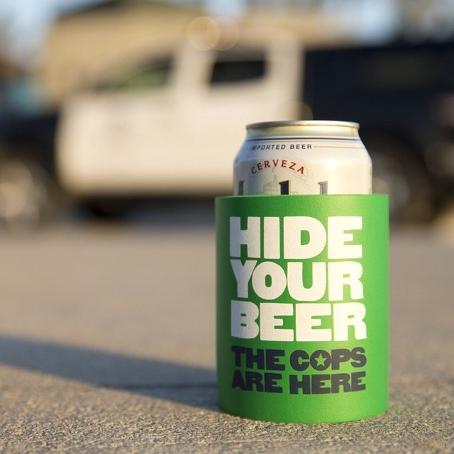 Hide Your Beer Foam Can Cooler by SUPERKOLDIE
