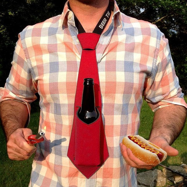 The Beer Tie Koozie