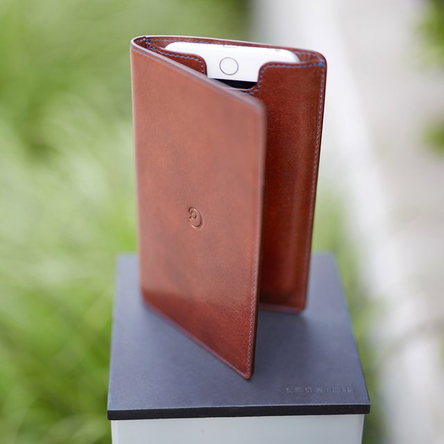 Leather iPhone 6 Plus Wallet Case by Danny P.