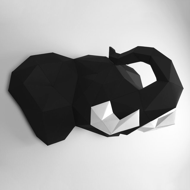 Black Elephant Papertrophy