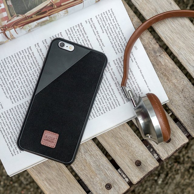 CLIC 360 British Millerain Waxed Canvas iPhone Case