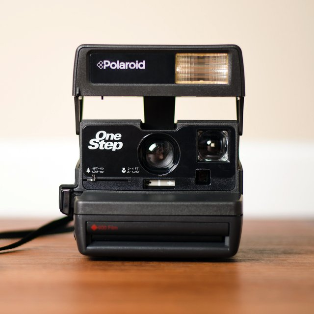 Polaroid OneStep 600 Camera by impossible Project