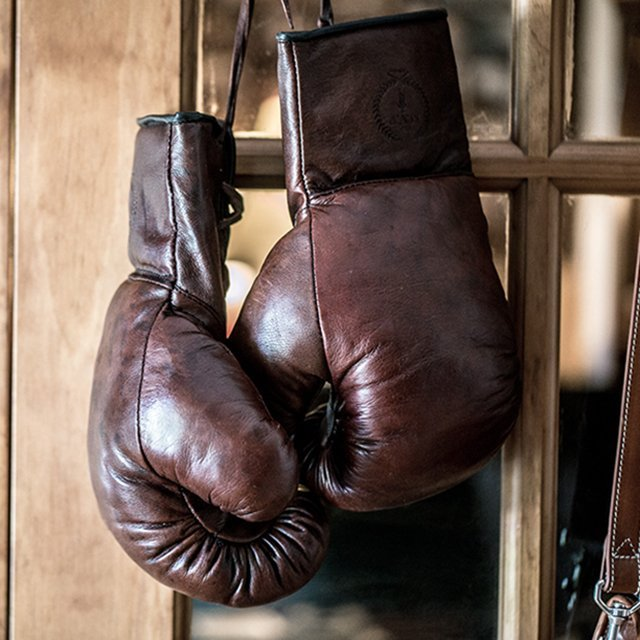 Handmade MVP Heritage Leather Boxing Gloves