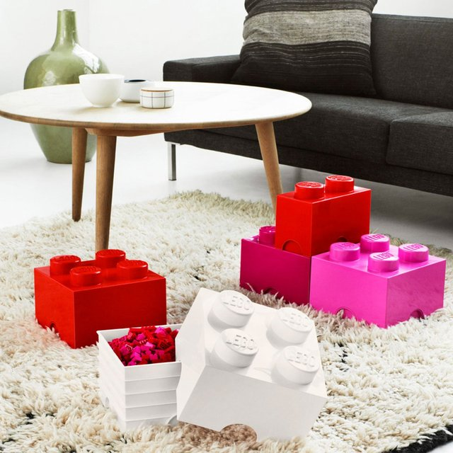 Lego Square Storage Brick