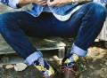Getaway Crew Socks by Strollegant