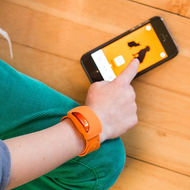 Moff Band Wearable Smart Toy Wristband
