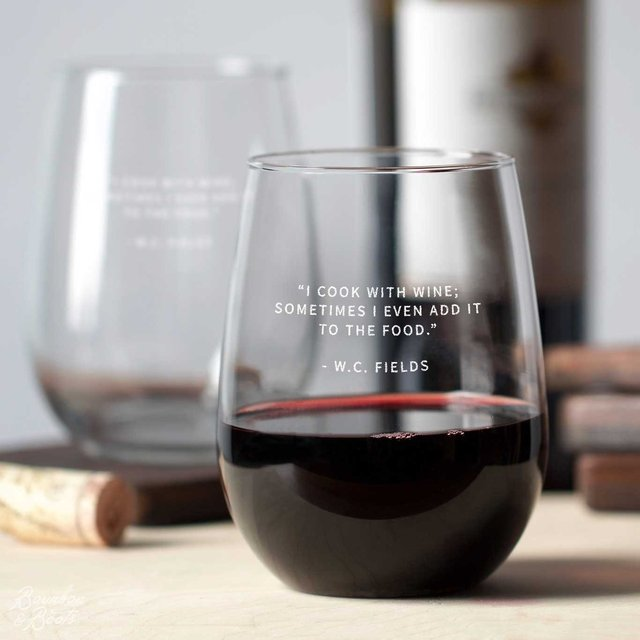 Wine Legends Stemless Wine Glass Sets