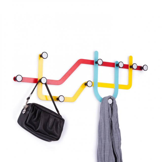 Subway Wall Coat Hooks