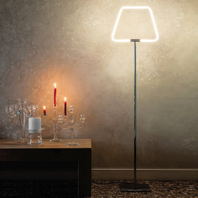 Arco Archetto Shaped Floor Lamp